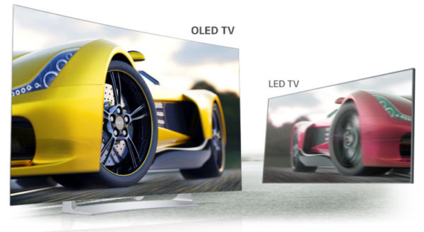 OLED vs LED TV Motion Blur