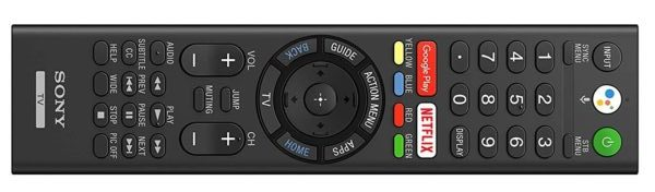 Sony Voice Remote 2019