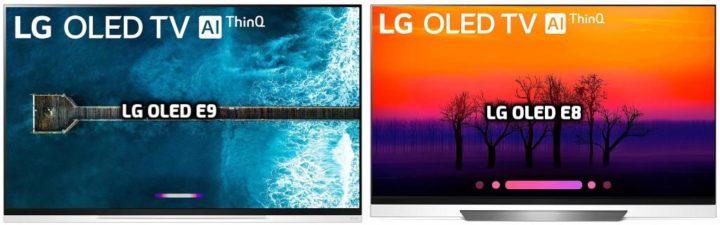 LG OLED E9 vs OLED E8
