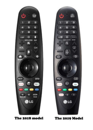 LG Remote 2018 and 2019